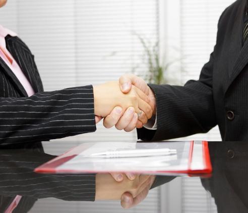 Accord entre deux personnes
